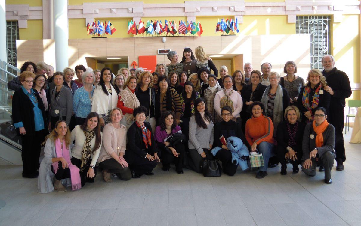 Netzwerkpartner/innen weltweit / Copyright Dialog Reggio Österreich
