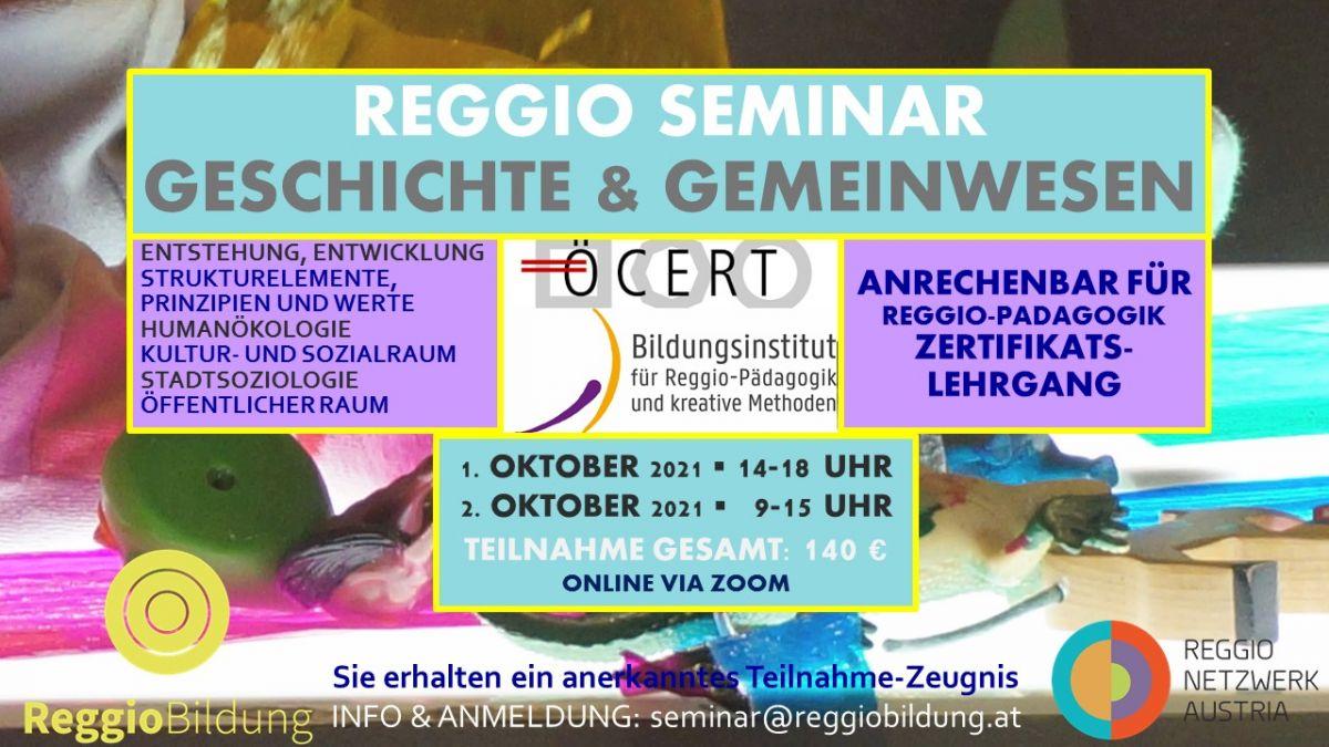 REGGIO-Seminar_Geschichte und Gemeinwesen